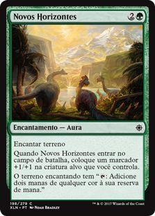 XLN198 -  Novos Horizontes (New Horizons) FOIL