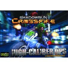 Shadowrun: Crossfire - Expansão High Caliber Ops