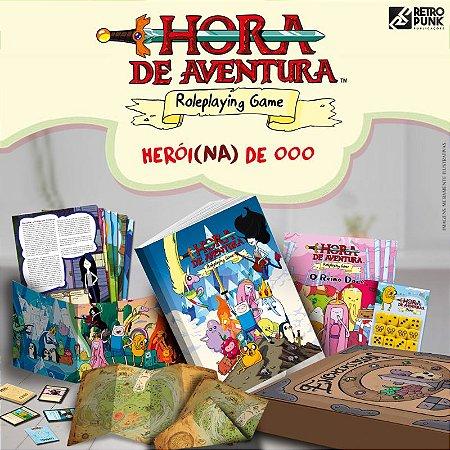 Hora da Aventura - RPG - Pacote do Herói
