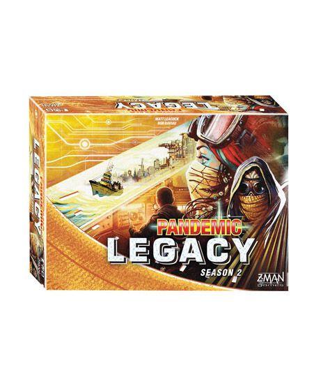 Pandemic Legacy - 2ª Temporada - Caixa Amarela