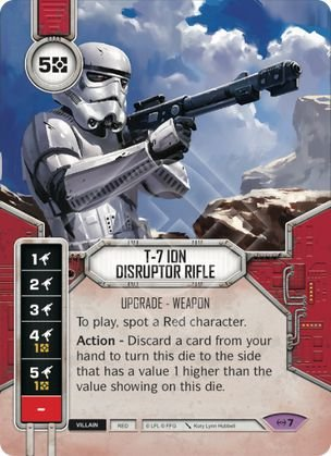 SWDEAW007 - T-7 Ion Disruptor Rifle - T-7 Ion Disruptor Rifle