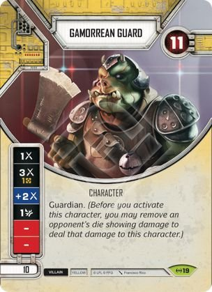 SWDEAW019 - Guarda Gamorreano - Gamorrean Guard