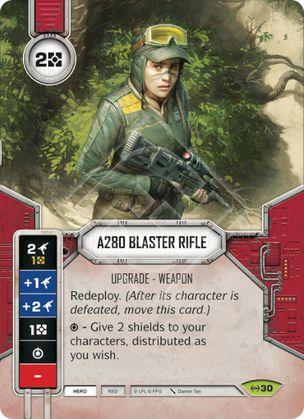 Rifle Blaster A280 - A280 Blaster Rifle