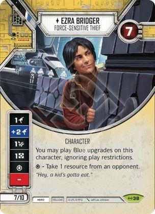 SWDEAW038 - Ezra Bridger Ladrão Sensível à Força - Ezra Bridger Force-sensitive Thief