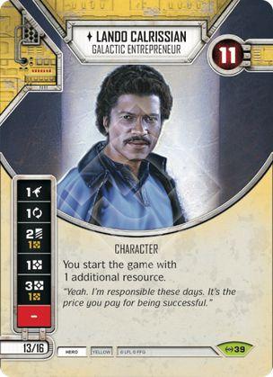 SWDEAW039 - Lando Calrissian Empreendedor Galático - Lando Calrissian Galactic Entrepreneur