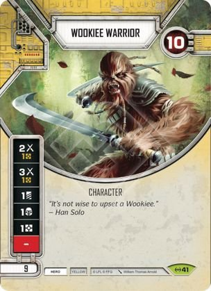 SWDEAW041 - Guerreiro Wookie - Wookiee Warrior