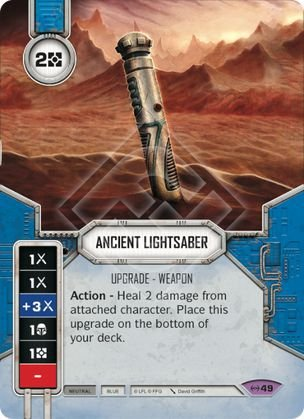 SWDEAW049 - Sabre de Luz Antigo - Ancient Lightsaber