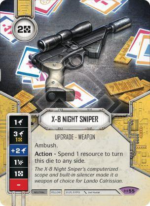SWDEAW055 - Sniper Noturna X-8 - X-8 Night Sniper