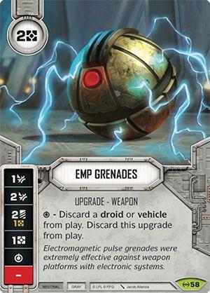 SWDEAW058 -  Granadas PEM - EMP Grenades