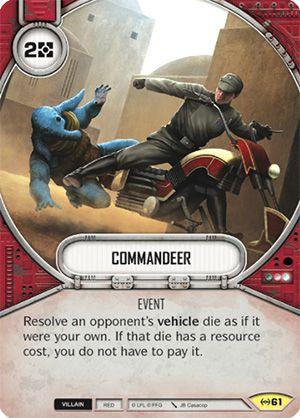 SWDEAW061 - Requisitar - Commandeer