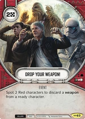 SWDEAW063 - Larguem as Armas - Drop Your Weapon!
