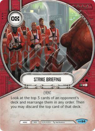 SWDEAW094 - Instruções de Ataque - Strike Briefing