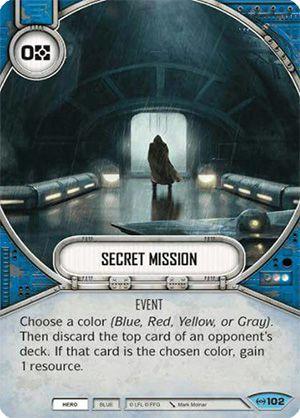 SWDEAW102 - Missão Secreta - Secret Mission