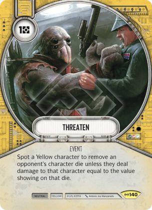 SWDEAW140 - Ameaçar - Threaten