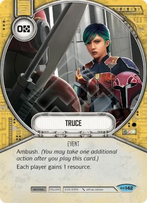SWDEAW142 - Trégua - Truce