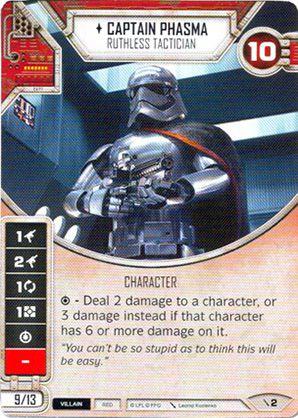 SWDTPG002 - Capitã Phasma Estrategista Implacável - Captain Phasma Ruthless Tactician