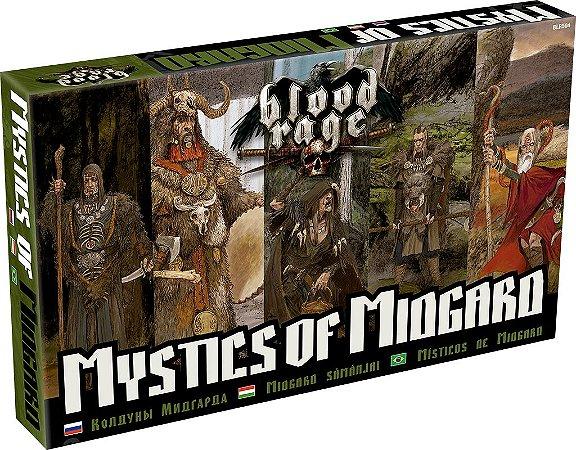 Blood Rage: Místicos de Midgard - Expansão de Blood Rage
