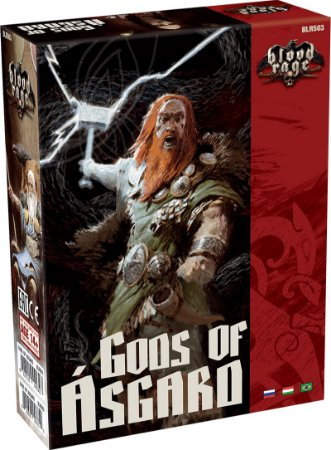 Blood Rage: Deuses de Ásgard - Expansão de Blood Rage