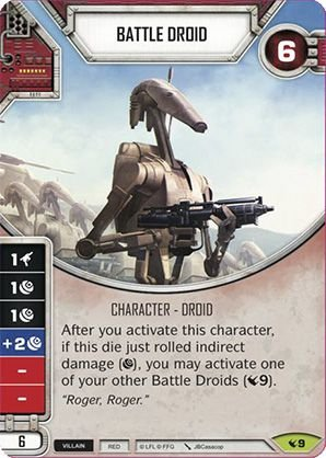 SWDLEG009 - Battle Droid