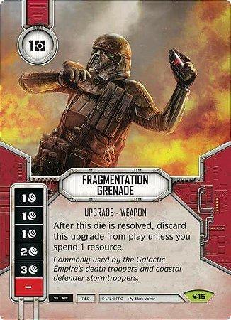 SWDLEG015 - Fragmentation Grenade