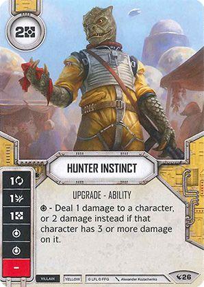 SWDLEG026 - Hunter Instinct