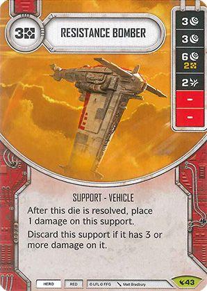 SWDLEG043 - Resistance Bomber