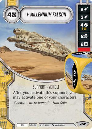 SWDLEG052 - Millennium Falcon