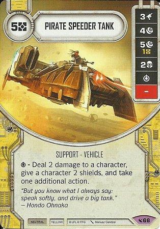 SWDLEG066 - Pirate Speeder Tank
