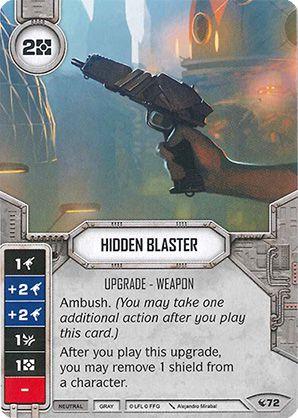 SWDLEG072 - Hidden Blaster