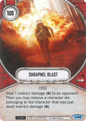 SWDLEG088 - Shrapnel Blast