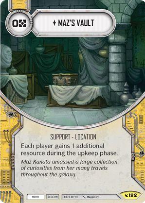 SWDLEG122 - Maz's Vault