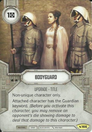 SWDLEG166 - Bodyguard