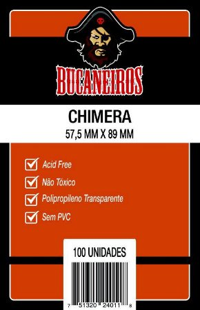 Sleeves Bucaneiros - Chimera 57.5x89mm c/ 100