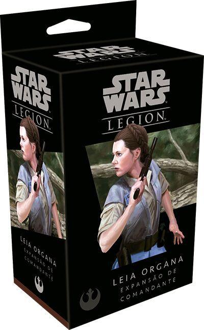 Star Wars Legion - Expansão de Comandante Leia Organa