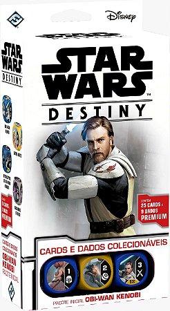 Star Wars Destiny - Pacote Inicial Obi-Wan Kenobi