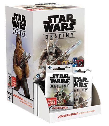 Star Wars Destiny - Convergência - 36 Boosters