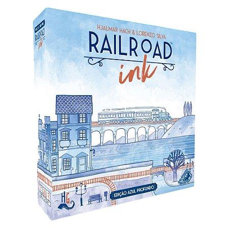 Railroad Ink: Edição Azul Profundo (PRÉ-VENDA)