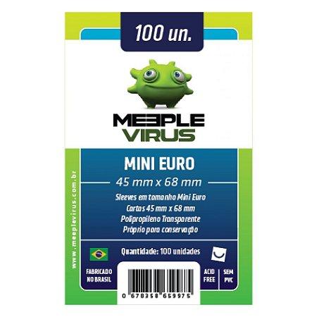 Sleeves Meeple Virus - Mini Euro 45x68mm c/100