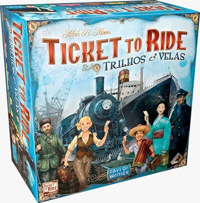 Ticket to Ride: Trilhos e Velas