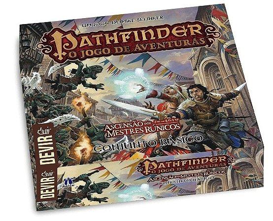 Pathfinder - Conjunto Básico - Ascensão dos Mestres Rúnicos - Em Português!