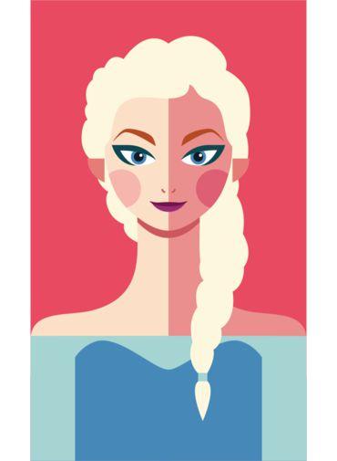 Ímã - Elsa - Princesas da Disney