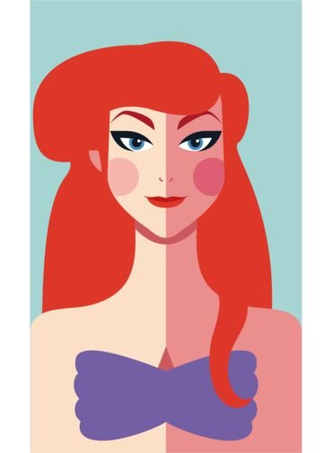 Ímã - Ariel - Princesas da Disney