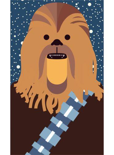 Ímã - Chewbacca - Star Wars