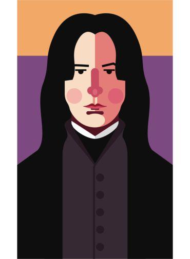 Ímã - Snape - Harry Potter