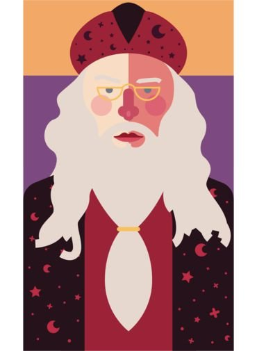 Ímã - Dumbledore - Harry Potter