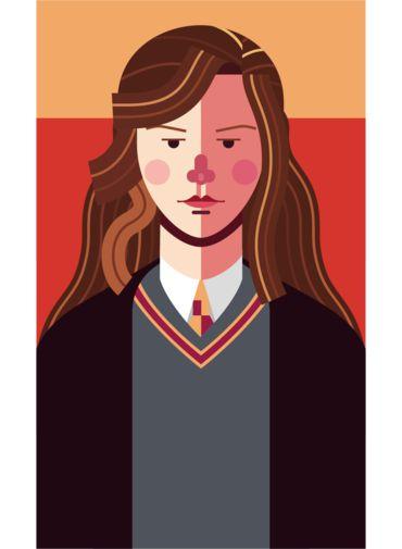 Ímã - Hermione Granger - Harry Potter