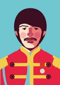 Ímã - Ringo Starr - Beatles