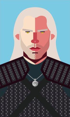 Ímã - Geralt - The Witcher