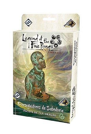 L5R - Perseguidores da Sabedoria - Pacote de Clã Dragão