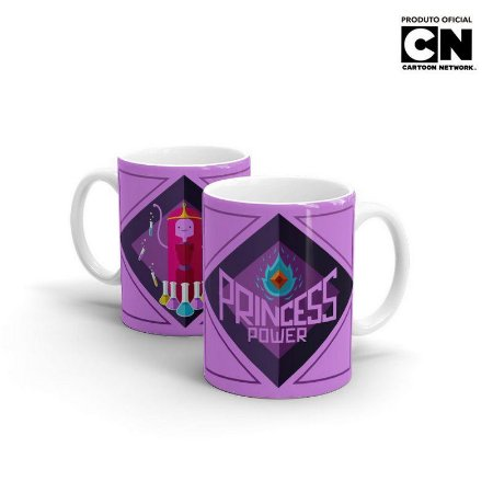 Caneca Hora de Aventura - Pincesa Jujuba - Princess Power